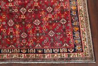 Vintage All-Over RED Kashkoli Area Rug Wool Hand-Knotted Oriental Carpet 7'x10'