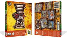 Road Rash 64 N64 juego de Cartucho de Repuesto Cubierta Estuche Caja + obras de arte (sin Juego)