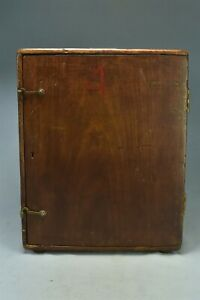 Antique CL BERGER & SONS SURVEYING TRANSIT #28730  in Wooden CASE #02570