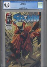 Spawn #3 CGC 9.8 1992 Image Comics Todd McFarlane :Damaged or Repaired Cover