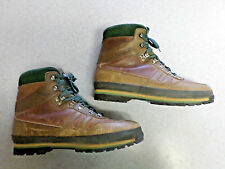 "Technica ""Nebraska"" brown leather, flannel lined hiking/work boots, Men's 12"