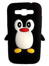 Black Silicone Penguin Phone Case / Cover for Samsung Galaxy Win I8550