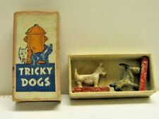 Vintage 1940S Tricky Dogs Scotties Scottish Terriers West Highland White Magnets