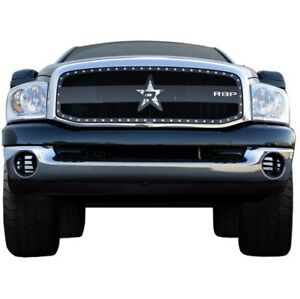 RBP RBP-951459 RX-3 Series Studded Frame Grille For 06-08 Ram 1500/2500/350 NEW