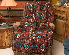 Southwest Jacquard Throw Blanket 50x60 -Sierra (t7)