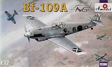 Amodel 1/72 Messerschmitt Bf109A # 72209