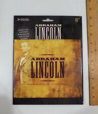 2009 Abraham Lincoln Commemorative Stamp Folio, 20 stamps, 4 Bio Cards, Sealed