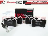 FOR SEAT LEON 1.8 T CUPRA R BREMBO FRONT HIGH PERFORMANCE SPORT BRAKE PADS
