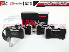 FOR SEAT LEON 03-06 BREMBO GENUINE ORIGINAL BRAKE PADS PAD SET FRONT AXLE P85104
