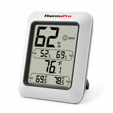 ThermoPro Indoor Humidity & Temperature and Monitor - White Model TP50