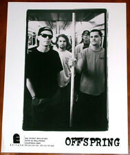 Rare Offspring 8x10 B&W Press Photo Epitaph Records