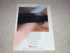 Nakamichi BX-300 Cassette Ad, 1984, 3 head, Ready for Framing
