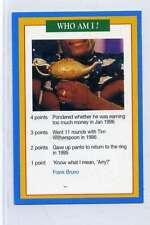 (Jj145-100) RARE Trade Card Premier of Frank Bruno ,Boxer 1997 MINT