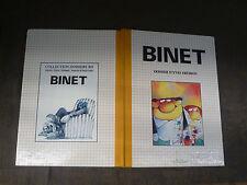 BINET DOSSIER D YVES FREMION SEDLI JACKY GOUPIL EDITEUR 1984