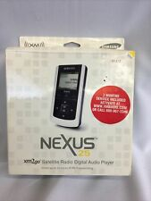 Samsung Nexus 25 Yp-X5X Xm2Go Xm Satellite Radio Mp3 Player New