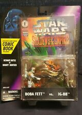 "1996 SOTE ""Boba Fett vs. IG-88"" with Dark Horse Comic Book  NIB"