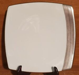 "Mikasa RIDGE SQUARE Salad plate, 8"", AN052, Bone China, New with tags, NWT"