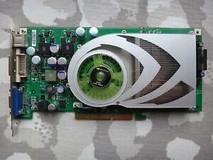 PNY nVidia GeForce 7800GS 256MB 256Bit GDDR3 AGP 8x DVI/VGA/TV Graphics Card NEW