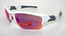 Authentic OAKLEY Flak Jacket XLJ Prizm White Sunglasses OO9009-07 *NEW*
