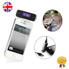 Car Wireless Music FM Radio MP3 Transmitter For 3.5mm MP3 Moible Phones Tablets
