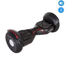 "Più forte 500W Skateboard Nero All Terrain OFF-ROAD 10"" AUTO-bilanciamento SCOOTER"