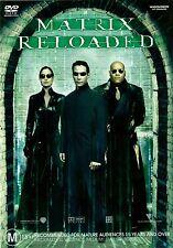 MATRIX RELOADED - WIDESCREEN - Keanu Reeves Hugo Weaving - 2 DISC Region 4 DVD