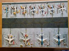 1/400 Model Airport Mat Narrow and Widebody ground layout A1 594mm x 841mm