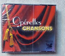 CD AUDIO MUSIQUE/ COFFRET 5XCD OPÉRETTES ET CHANSONS  READER'S DIGEST NEUF NEW