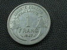 FRANCE     1  Franc    1947  , $ 2.99 maximum shipping in USA  !