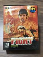 Burning Fight for SNK ORIGINAL RARE Neo Geo Boxed Japan Video Game Free Shipping