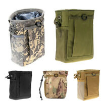 Military Reloader Bag Molle Tactical Magazine DUMP Ammo Drop Utility Pouch Bag