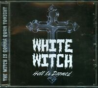 White Witch Hell Is Doomed CD new private indie obscure US cult metal
