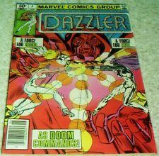 Dazzler 4, NM- (9.2), 1981 Doctor Doom! 66.6% off Guide!