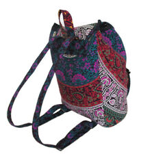 Backpack Indian Cotton Mandala Unisex Multipurpose Bags With Adjustable Strap