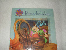 Kids hardcover:Rumpelstiltzkin,Hallmark Timeless Tales-girl spins straw to gold
