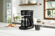 12 Cup Programmable Coffee Maker with Thermal Carafe Option, Black