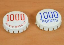 1000 Points and 1000 Points when lit Pop Bumper Caps (Set of 2)