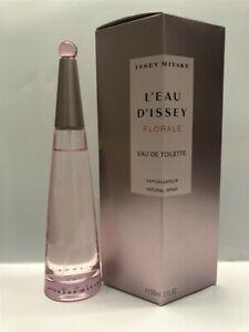 L'Eau D' Issey Florale by Issey Miyake 3.3 oz/100 ml Eau de Toilette Spray Women