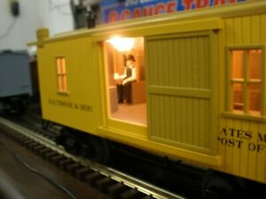MTH O Scale 19th Century Baltimore and Ohio Baggage/Cabin (RPO) car 30-77058