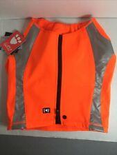 Hurtta Polar Visibility Dog Vest Orange Medium With Tags