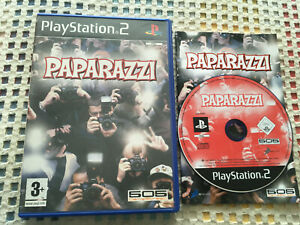 PAPARAZZI 505 GAMESTREET ps2 playstation 2 play station two