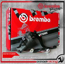 Brembo pompa radiale freno 16 x 18mm leva corta Motard