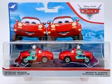 Disney Pixar Cars Diecast Rare Waitress Mia & Waitress Tia Dinoco 400 2 Pack