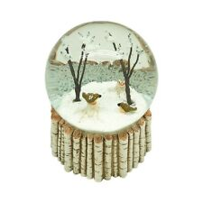 Heaven Sends Birds in Trees Christmas Snowglobe - Christmas Decorations