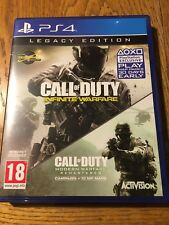 Call of Duty Infinite Warfare Legacy Edition (unsealed) - PS4 UK New!