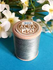 143B / Belle Coil Old DMC Thread Cotton Alsa N°40 Steel Blue N° 927