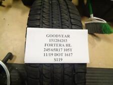 1 NEW GOODYEAR FORTERA HL 245 65 17 105T TIRE WO LABEL 151284203 Q9