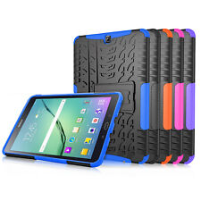 "Hybrid Protective Hard Case Cover for Samsung Galaxy Tab S2 Tablet 8.0"" / 9.7"""