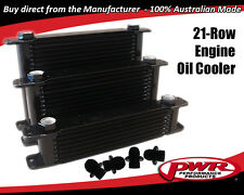 PWR ENGINE OIL COOLER 14-ROW 280x127x37mm Dash -10 AN / Dash -12 AN PWO5929
