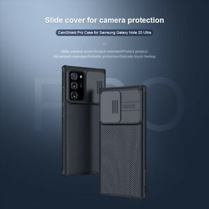 NILLKIN Camshield Camera Lens Protection Phone Case For Samsung Galaxy Note 20